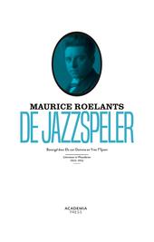 Maurice Roelants : de jazzspeler en andere verhalen