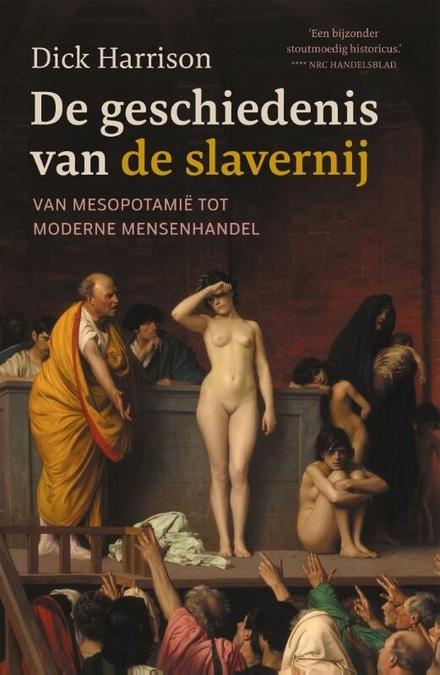 De geschiedenis van de slavernij : van Mesopotamië tot moderne mensenhandel - volledig werk over de geschiedenis van de slavernij