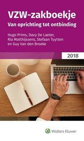Vzw-zakboekje : van oprichting tot ontbinding. 2018