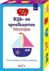 Kijk- en speelkaarten : woordjes : 100 woordjes en leuke spelletjes