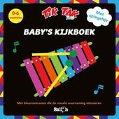 Baby's kijkboek : met kleurcontrasten die de visuele waarneming stimuleren