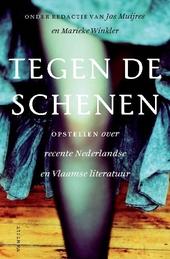 Tegen de schenen : opstellen over hedendaagse Nederlandse en Vlaamse literatuur