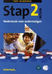 Stap. Nieuw : Nederlands voor anderstaligen. Deel 2, Tekst- en werkboek