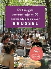 De 6 zaligste zomerterrasjes en 55 andere lijstjes over Brussel