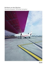 Brilliant on the skyline : general aviation terminal Schiphol