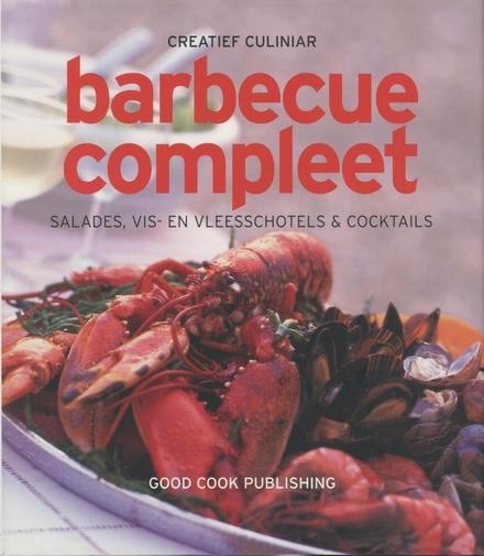 Barbecue compleet : salades, vis- en vleesschotels & coctails