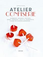 Atelier confiserie : bonbons, nougat, toffees, drop, fondant, lolly's, marsepein, fudge en chocoladerepen ...