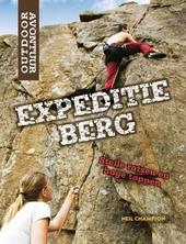 Expeditie berg : steile rotsen en hoge toppen