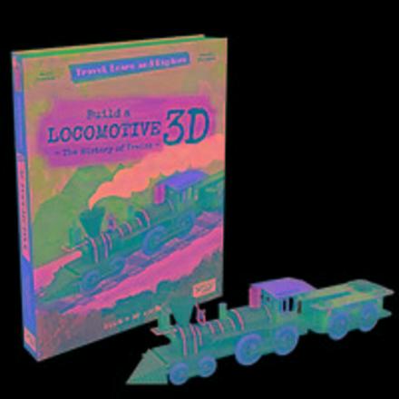 Bouw een 3D-Locomotief : de geschiedenis van de trein