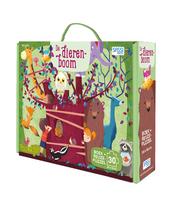 De dierenboom : boek met reuzenpuzzel