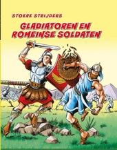 Gladiatoren en Romeinse soldaten