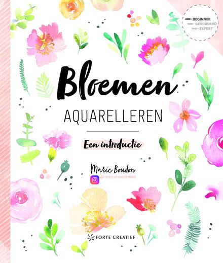 Bloemen aquarelleren