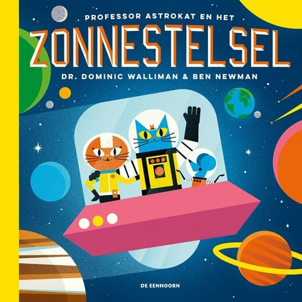 Professor Astrokat en het zonnestelsel