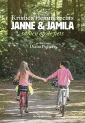 Janne & Jamila samen op de fiets