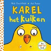 Karel het kuiken : een pop-up boek