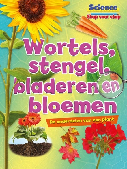 Wortels, stengel, bladeren en bloemen : de onderdelen van een plant