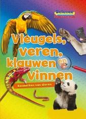 Vleugels, veren, klauwen en vinnen : kenmerken van dieren
