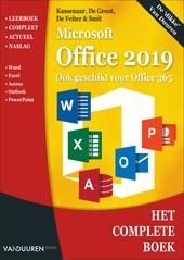 Het complete boek Microsoft Office 2019 : ook geschikt voor Office 365