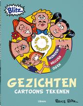 Gezichten : cartoons tekenen