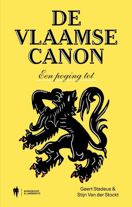 De Vlaamse canon : een aanzet tot