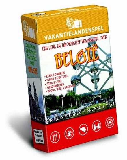 België : een leuk en informatief vragenspel over België