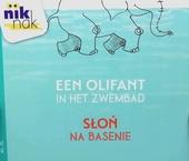 Een olifant in het zwembad [Nederlands-Poolse versie]