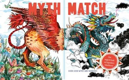 Myth match : een magisch boek vol bijzondere fabeldieren