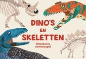 Dino's en skeletten : dinosaurus memoryspel