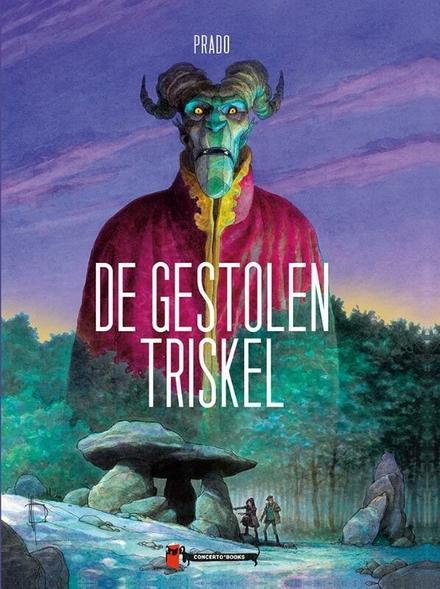 De gestolen triskel - De gestolen triskel, een grafisch sterke graphic novel
