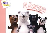 5 beren : meertalig vertelboek over vriendschap