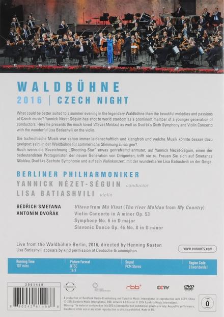 Waldbühne 2016 : Czech night