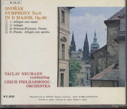 Symphonie no.6 in D major, op.60
