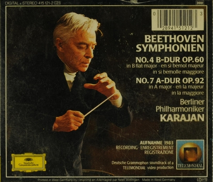 Symphonie no. 4 op. 60