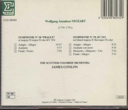 """Symphonie no.38 """"Prague"""""""