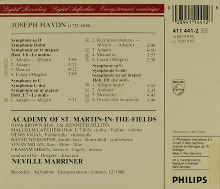 """Symphony in D, H.I no.6 """"Le matin"""""""