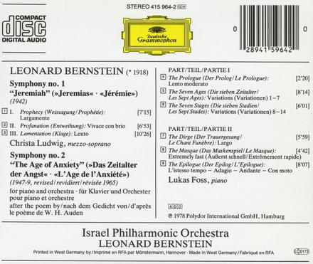 """Symphony no.1 """"Jeremiah"""""""