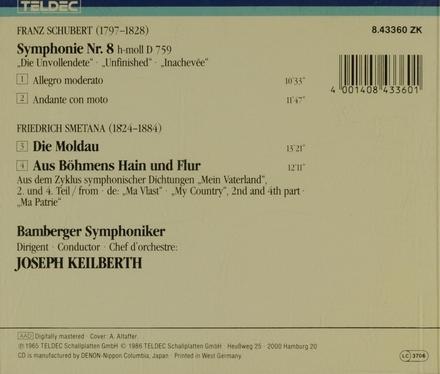 """Symphonie Nr.8 """"Unvollendete"""""""