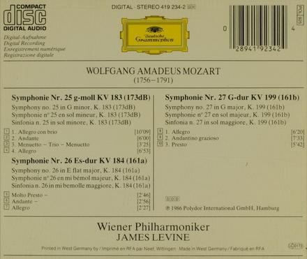 Symphonie No. 25 KV. 183