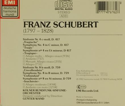 Sinfonie Nr.4 & 8