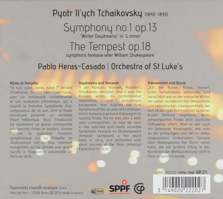 Symphony no.1 op.13