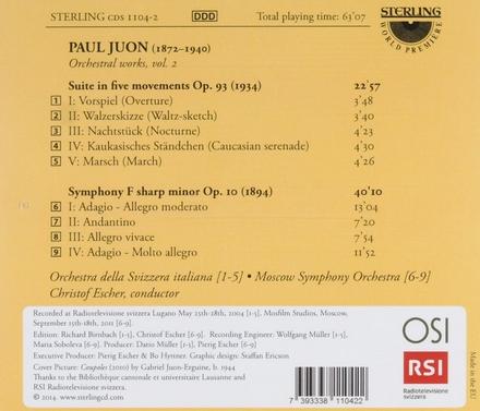Suite in five movements op.93