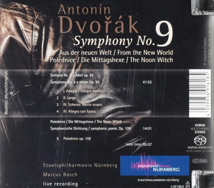 Symphony no.9 : Aus der neuen Welt
