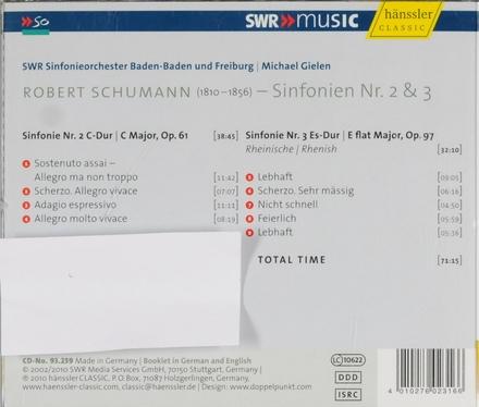 Sinfonien Nr. 2 & Nr. 3