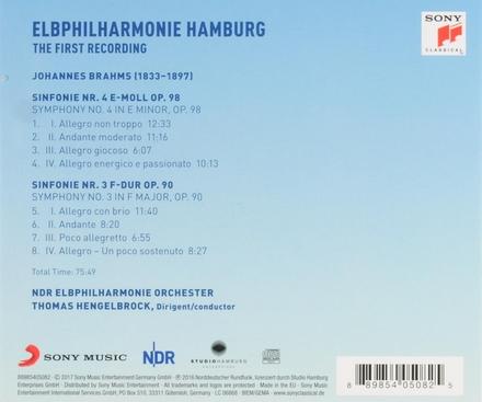 Elbphilharmonie Hamburg : the first recording