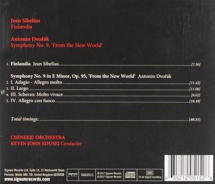 Symphony no.9, 'From the new world'