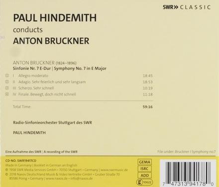 Paul Hindemith dirigiert Anton Bruckner