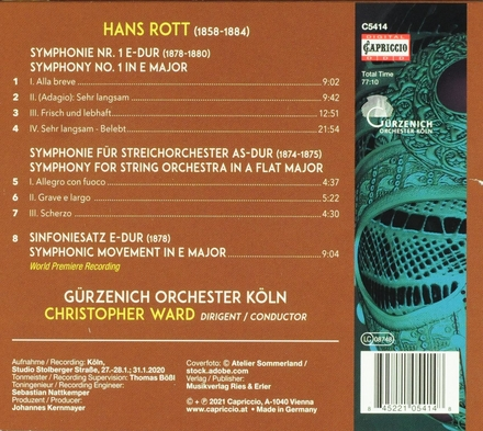 Orchestral works. Vol. 2