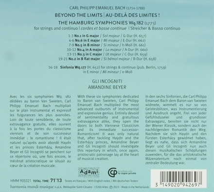 Beyond the limits : complete string symphonies