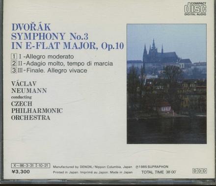 Symphony no. 3 in E-flat major, op. 10