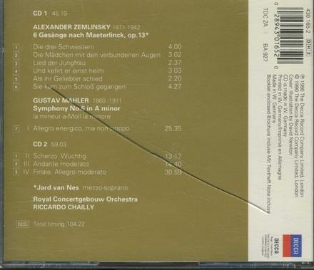 Six songs, op.13